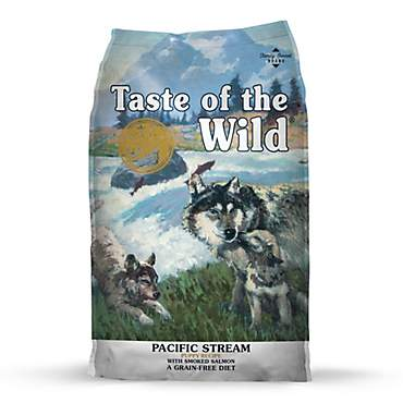 Taste of the Wild Pacific Stream Grain-Free Smoked Salmon Dry Puppy Food