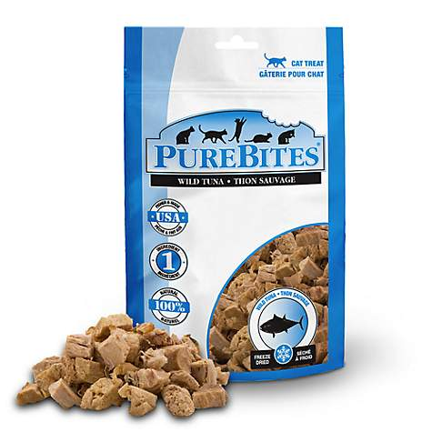 PureBites Freeze Dried Wild Tuna Value Size Cat Treats