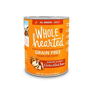 WholeHearted Grain-Free Adult Chicken and Duck Dinner Wet Dog Food