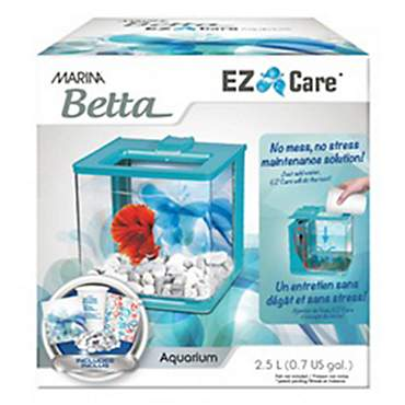 Marina Betta Aquarium Blue EZ Care Plus kit