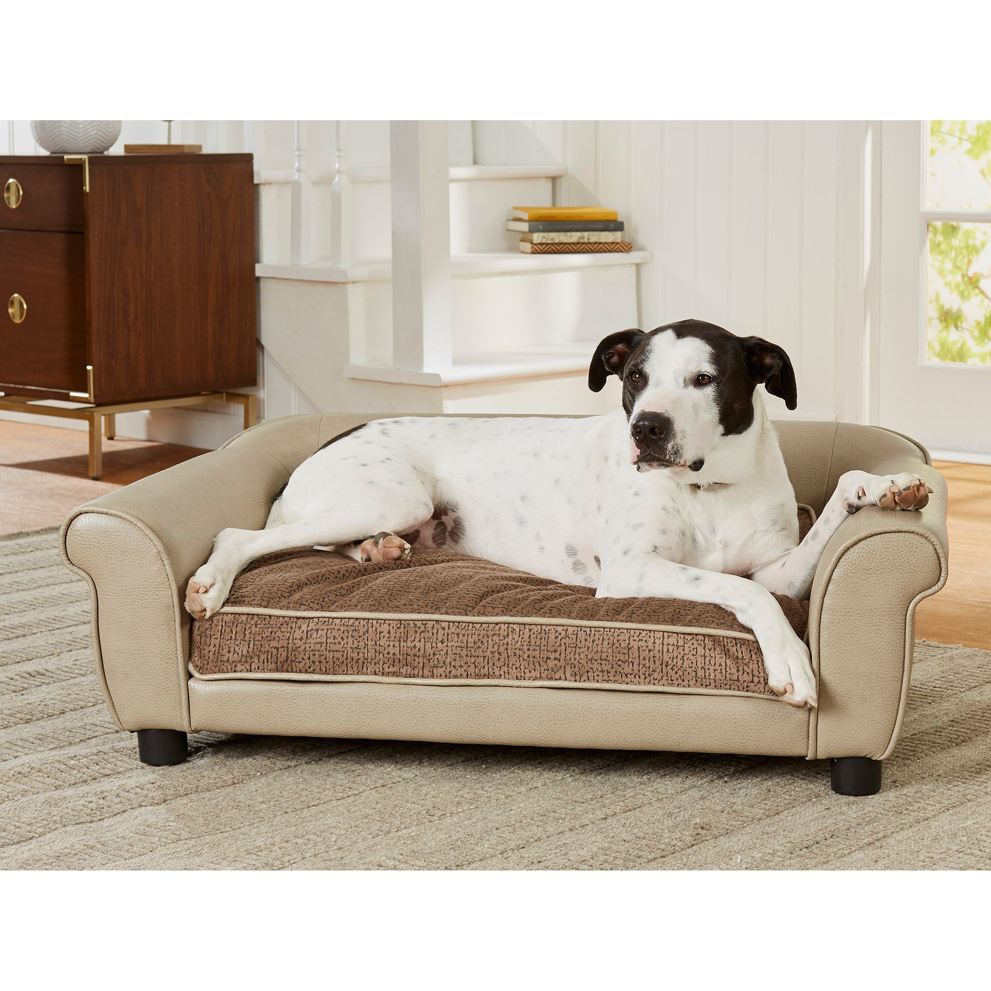 Enchanted Home Pet Maxwell Sofa Stone Cypress for Dog, 40.5