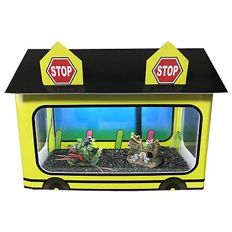 R&J Enterprises School Bus Tank House
