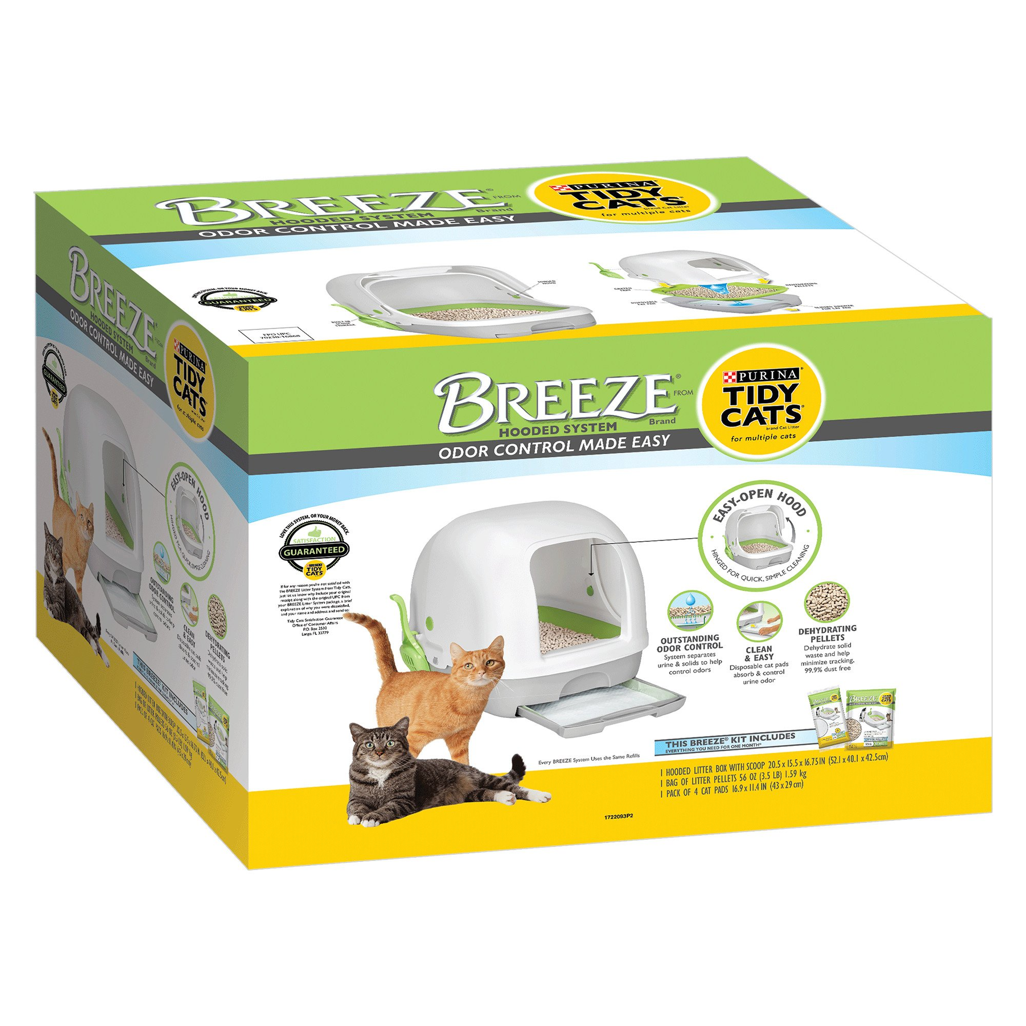 Cool Purina Tidy Cats Breeze Hooded System Starter Kit Cat Litter Box Litter Pellets Pads Petco Uwap Interior Chair Design Uwaporg
