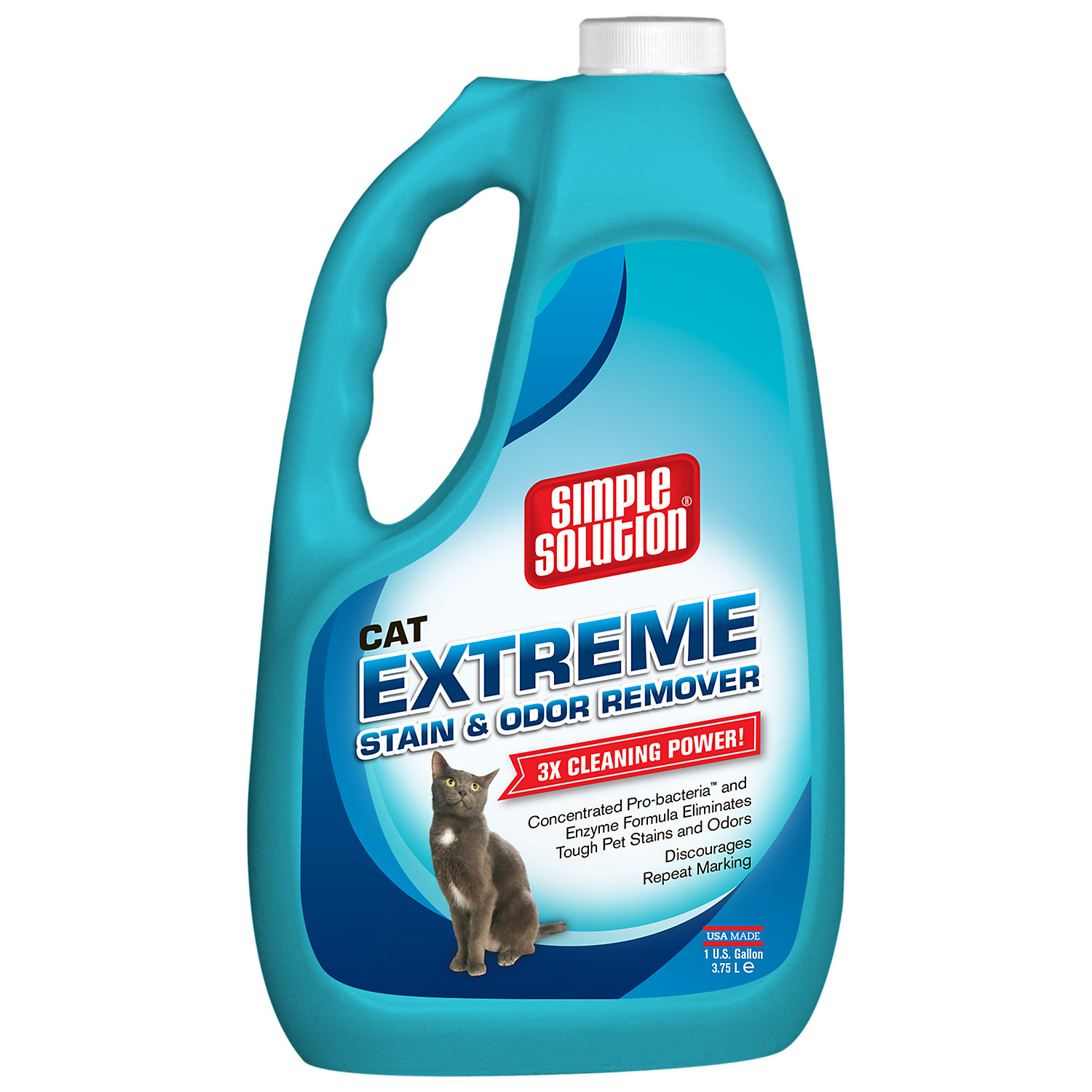 Image of Simple Solution Extreme Cat Stain & Odor Remover