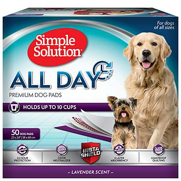 Simple Solution 6-Layer All Day Premium Dog Pads