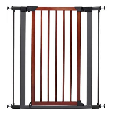 Midwest WalkThru Steel Pet Gate with Textured Graphite Frame ...