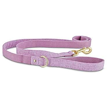 Bond & Co. Lavender Tweed Dog Leash
