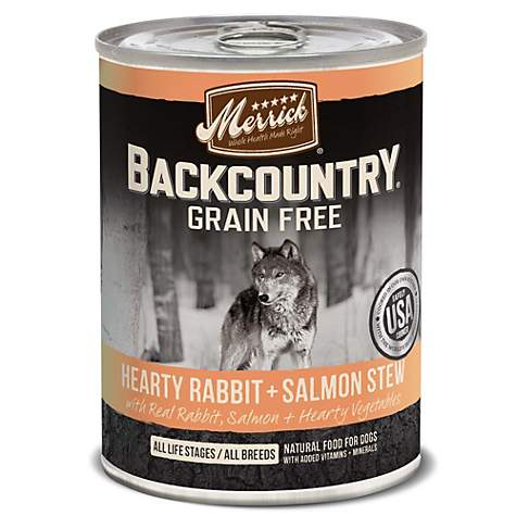Merrick Hearty Rabbit and Salmon Stew Wet Dog Food