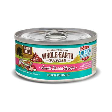 Whole Earth Farms Grain Free Small Breed Duck Dinner Wet Dog Food