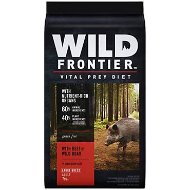 Wild Frontier Vital Prey with Beef & Wild Boar Adult Large Breed Dry Dog Food