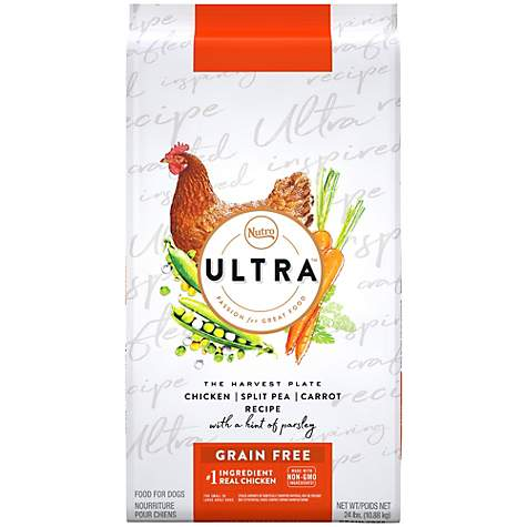 Nutro Ultra Dog Food >> Nutro Ultra Grain Free Chicken Split Pea Carrot Recipe With A Hint Of Parsley Dry Dog Food 24 Lbs