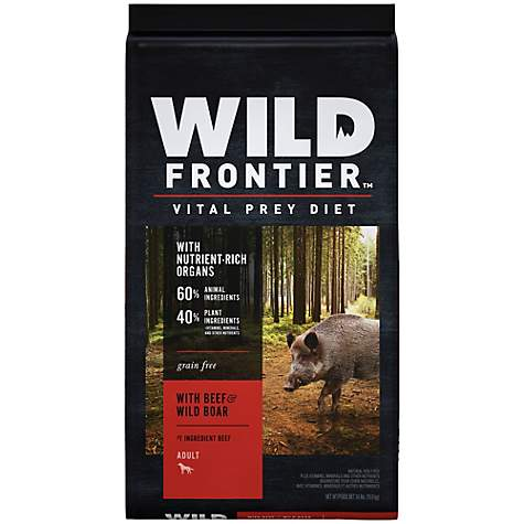 Wild Frontier Vital Prey with Beef & Wild Boar Adult Dry Dog Food