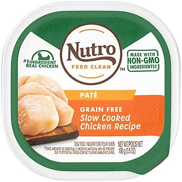 Nutro Pate Grain Free Slow Cooked Chicken Recipe Wet Dog Food