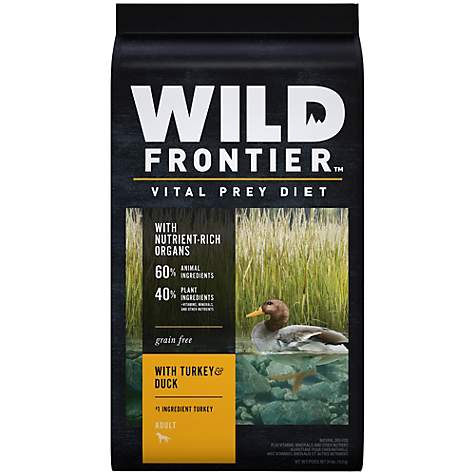 Wild Frontier Vital Prey with Turkey & Duck Adult Dry Dog Food