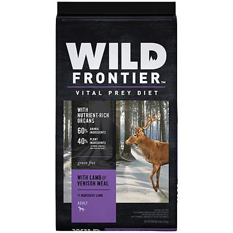 Wild Frontier Vital Prey with Lamb & Venison Meal Adult Dry Dog Food