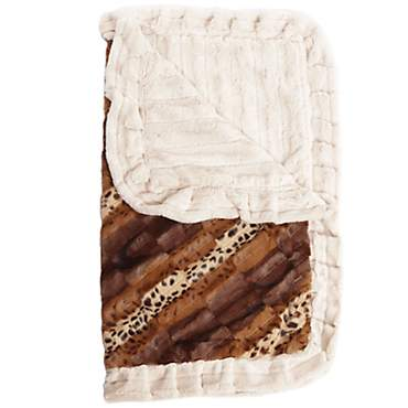 Bessie & Barnie Luxury Ultra Plush Wild Kingdom Pet Blanket for Dogs
