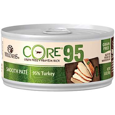Wellness CORE 95% Natural Grain Free Turkey Wet Canned Cat Food