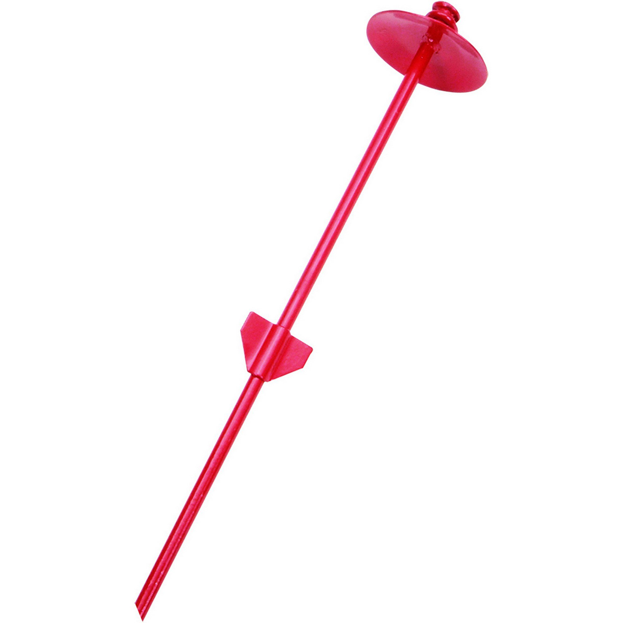 """Image of """"Petlinks System Fin Style Dome Tie Out Stake in Red, 20"""""""", Standard"""""""