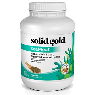 Solid Gold SeaMeal Powder for Skin & Coat, Digestive & Immune Health For Dogs & Cats