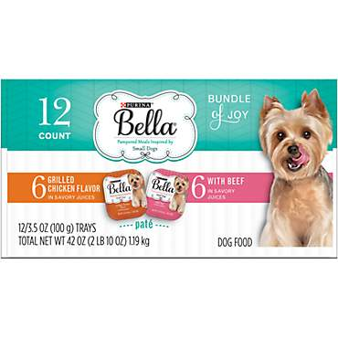 Bella Bundle of Joy Adult Wet Dog Food Variety Pack