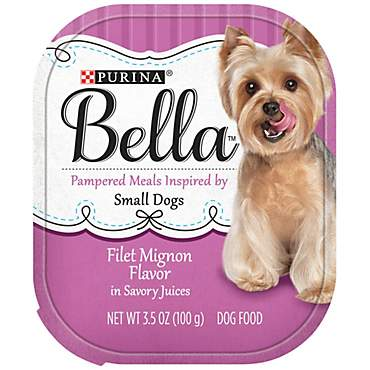 Bella Filet Mignon Flavor in Savory Juices Adult Wet Dog Food