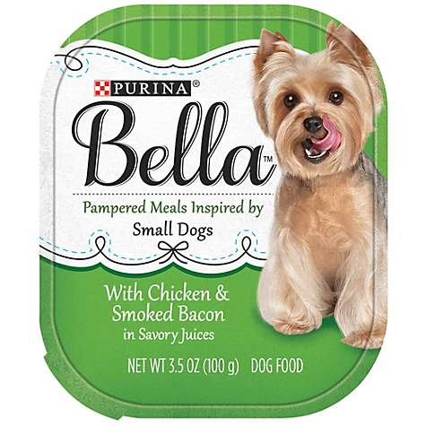 Purina Bella With Chicken & Smoked Bacon in Savory Juices Adult Wet Dog Food