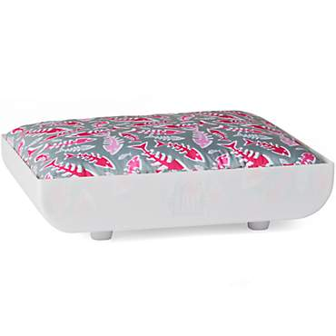 Kitty Kasas Penthaus White Bed for Cat
