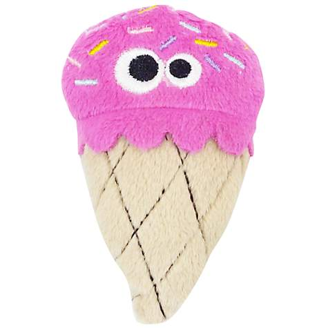 Mad Cat Strawburry Ice Cream Toy for Cats