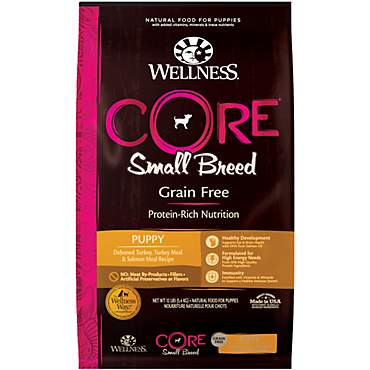 Wellness Core Small Breed Natural Grain Free Dry Puppy