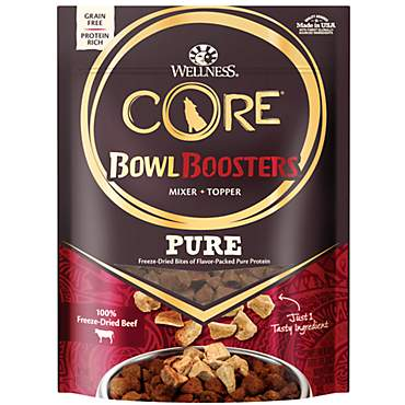 Wellness CORE Natural Freeze Dried Beef Bowl Boosters Wet Dog Food
