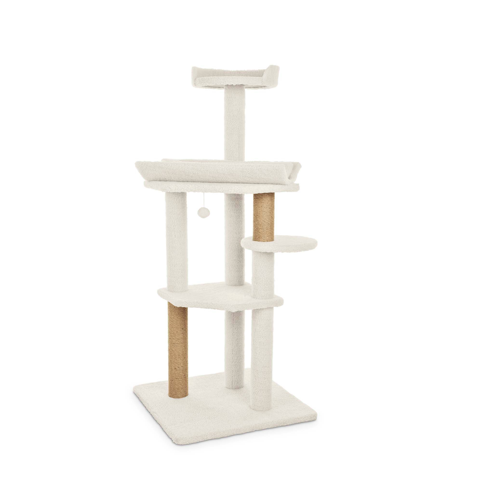 You & Me Feline High-Rise 4-Level Cat Tree | Petco | Tuggl
