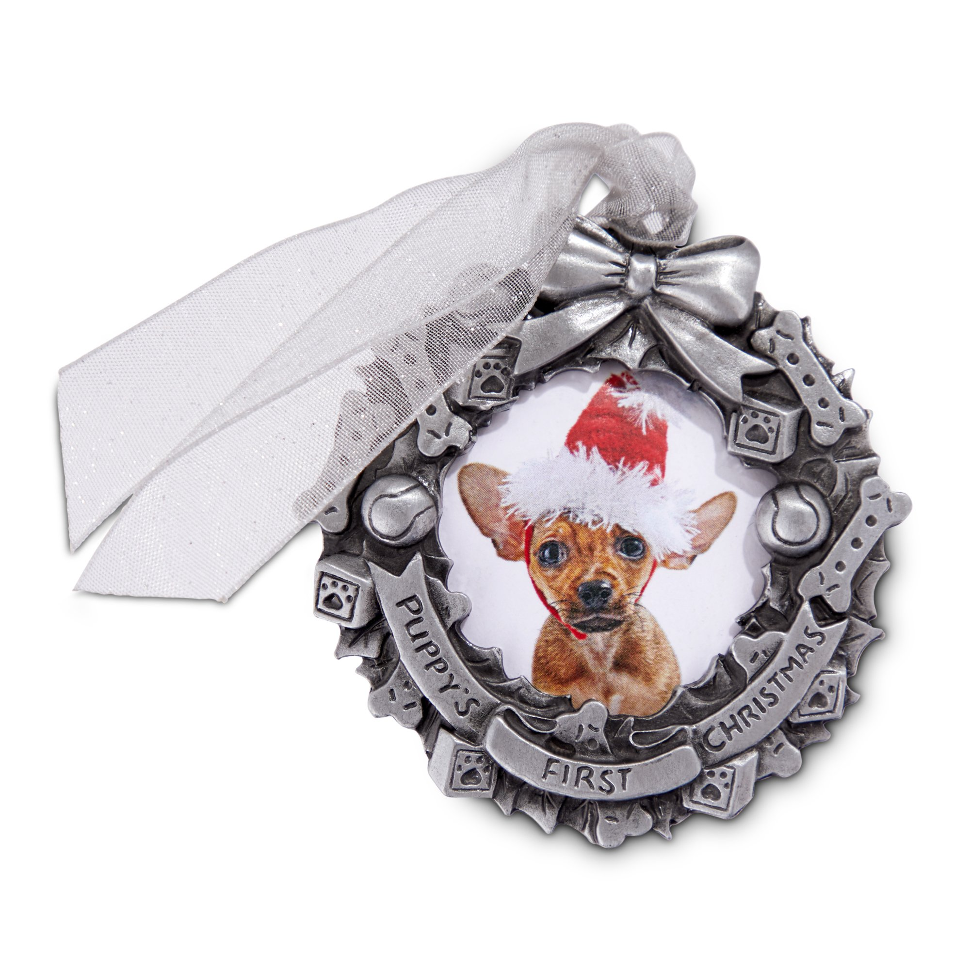 Holiday Tails My 1st Christmas Picture Frame Ornament | Petco