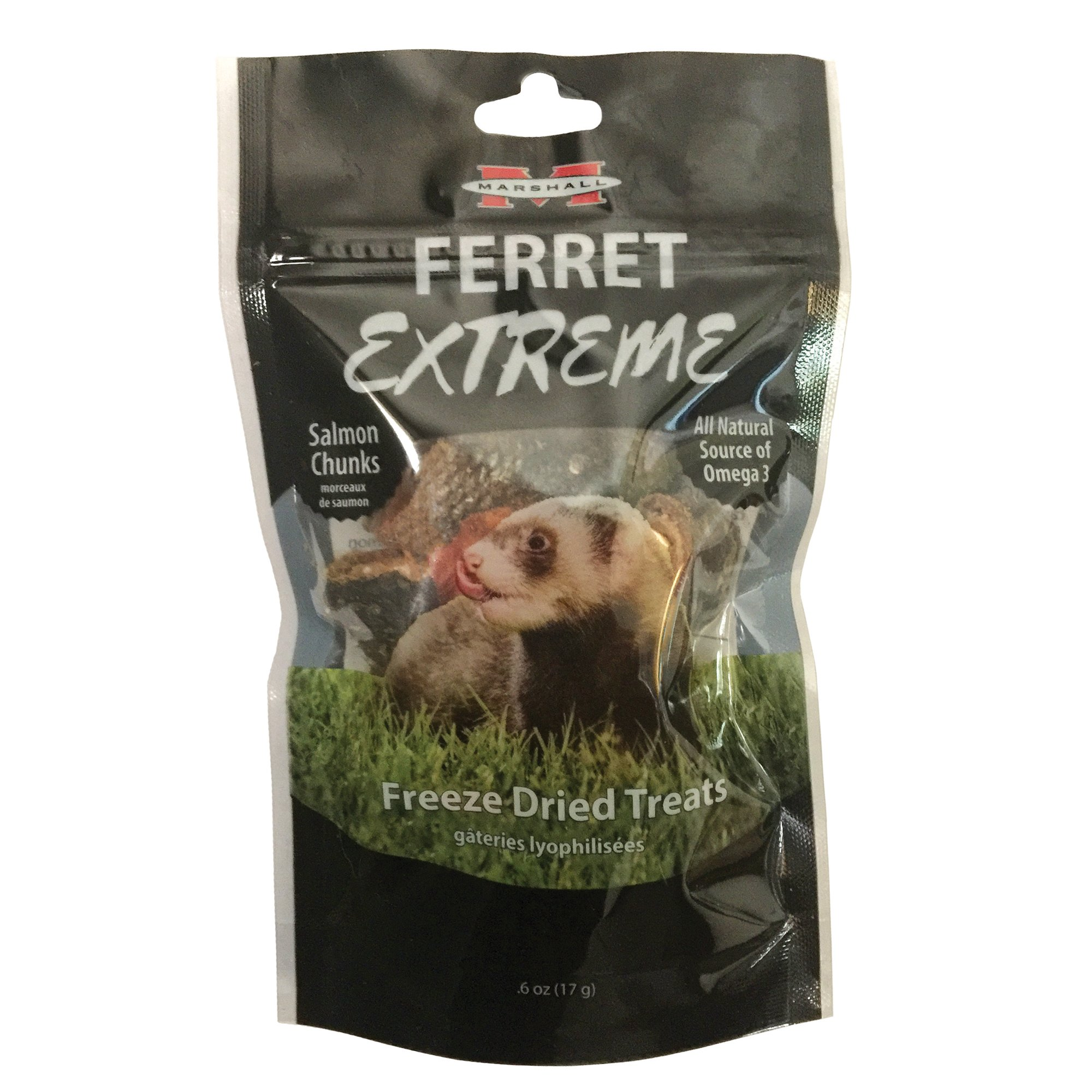 UPC 766501004236 product image for Marshall Ferret Extreme Freeze Dried Salmon Chunks Flavored Treats, 0.0375 lbs. | upcitemdb.com