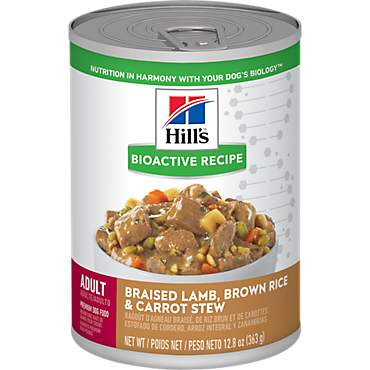 Hill's Bioactive Recipe Lamb & Vegetables Adult Dog Wet Food Stew