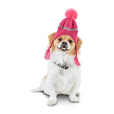 Good2Go Reflective Chullo Dog Hat in Pink