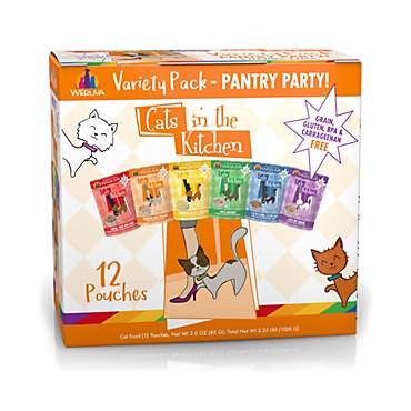 Cats in the Kitchen Pantry Party Variety Pack Wet Cat Food