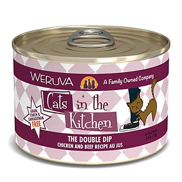 Cats in the Kitchen The Double Dip Chicken and Beef Recipe Au Jus Wet Cat Food