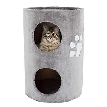 PETMAKER 2 Level Double Hole Cat Condo