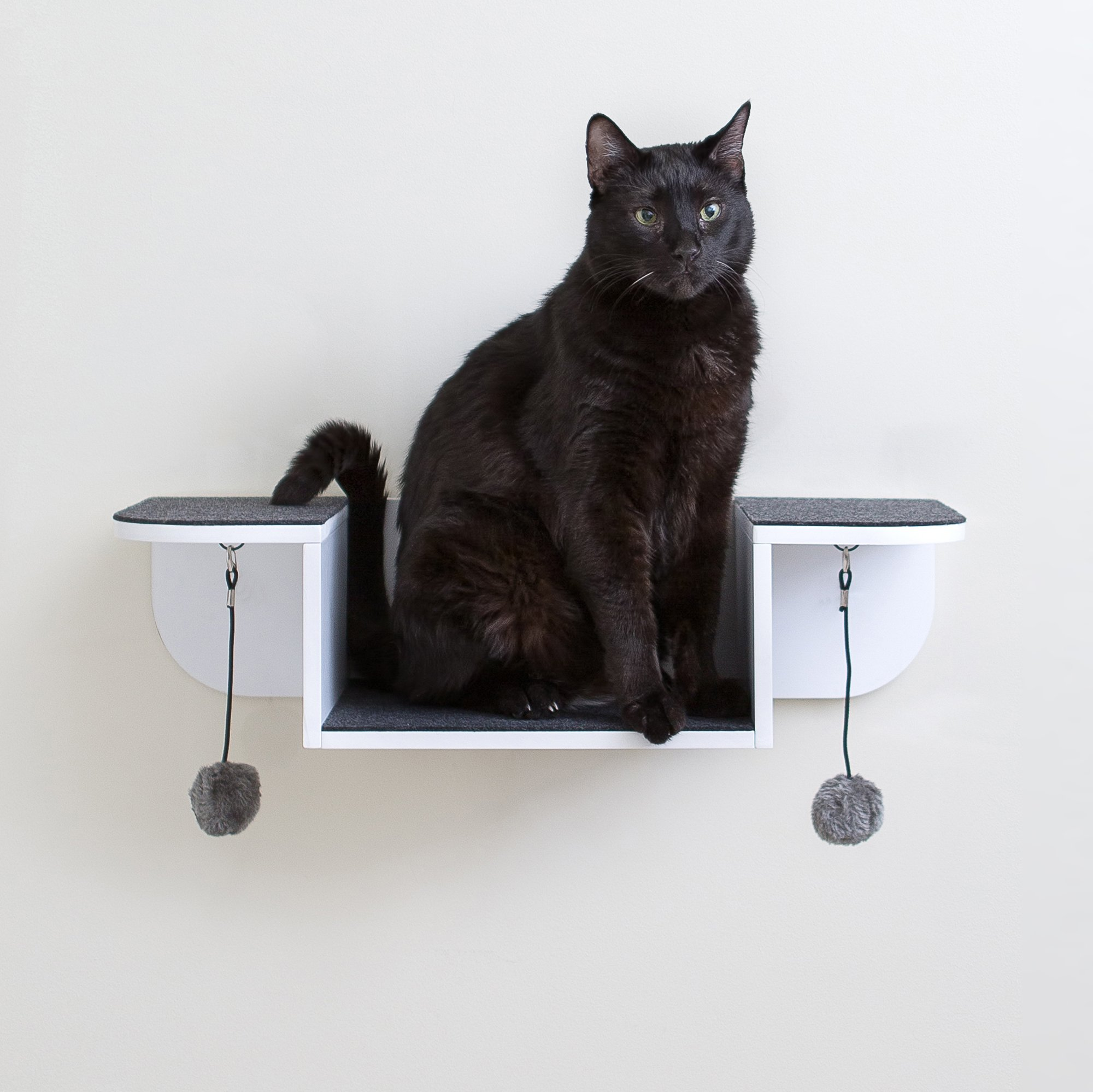 Hauspanther Collection by Primetime Nest Perch Wall-Mounted Cat ...