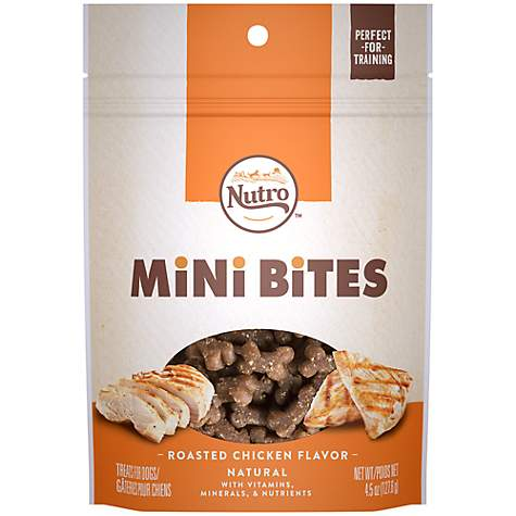 Nutro Mini Bites Roasted Chicken Flavor Dog Treats