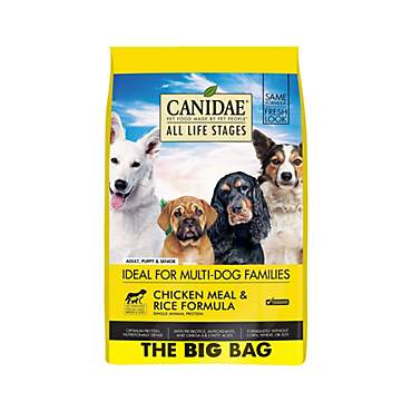 CANIDAE All Life Stages Chicken Meal & Rice Formula Dog Food