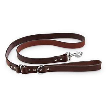 Bond & Co. Mahogany Leather Leash