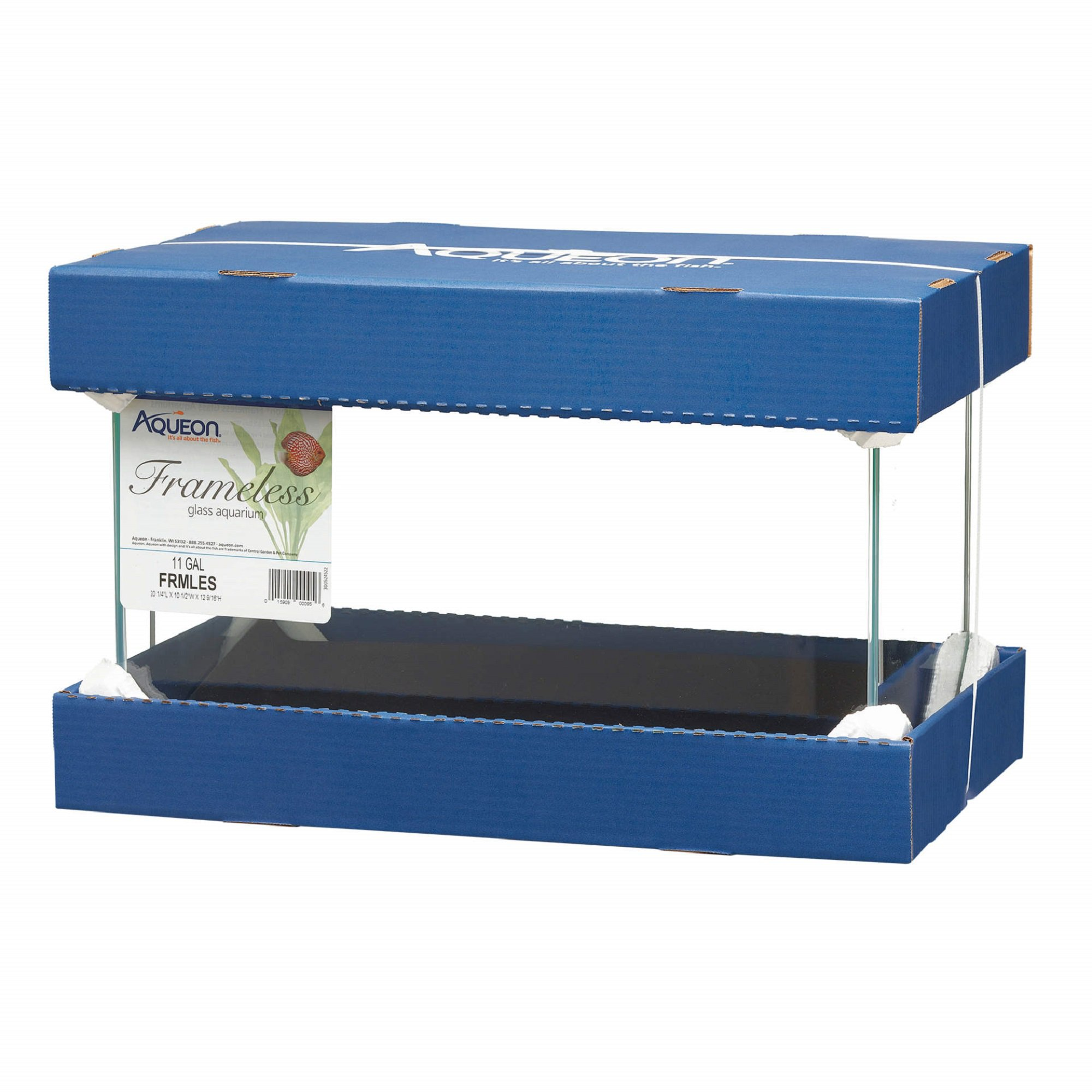 Aqueon 11 Gallon Frameless Aquarium | Petco