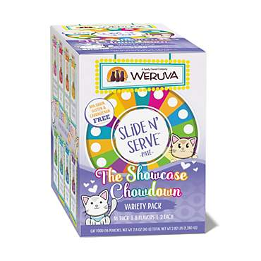 Weruva Pate The Showcase Chowdown Variety Pack Wet Cat Food