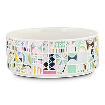 Oh Joy! Geometric Ceramic Pet Bowl
