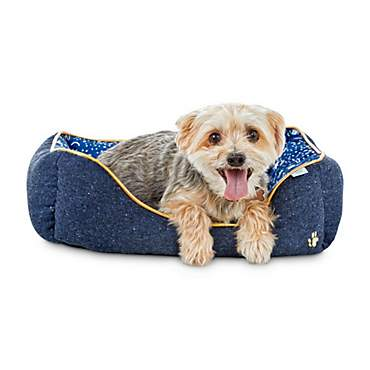 Oh Joy! Oh So Comfy! Blue Confetti Pet Bed