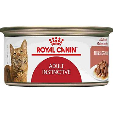 Royal Canin Adult Instinctive Thin Slices in Gravy Wet Cat Food Multipack