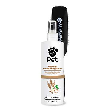 John Paul Pet Oatmeal Conditioning Spray with Free Brush for Dog