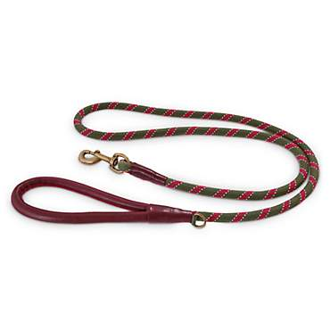 Reddy Olive Rope Dog Leash