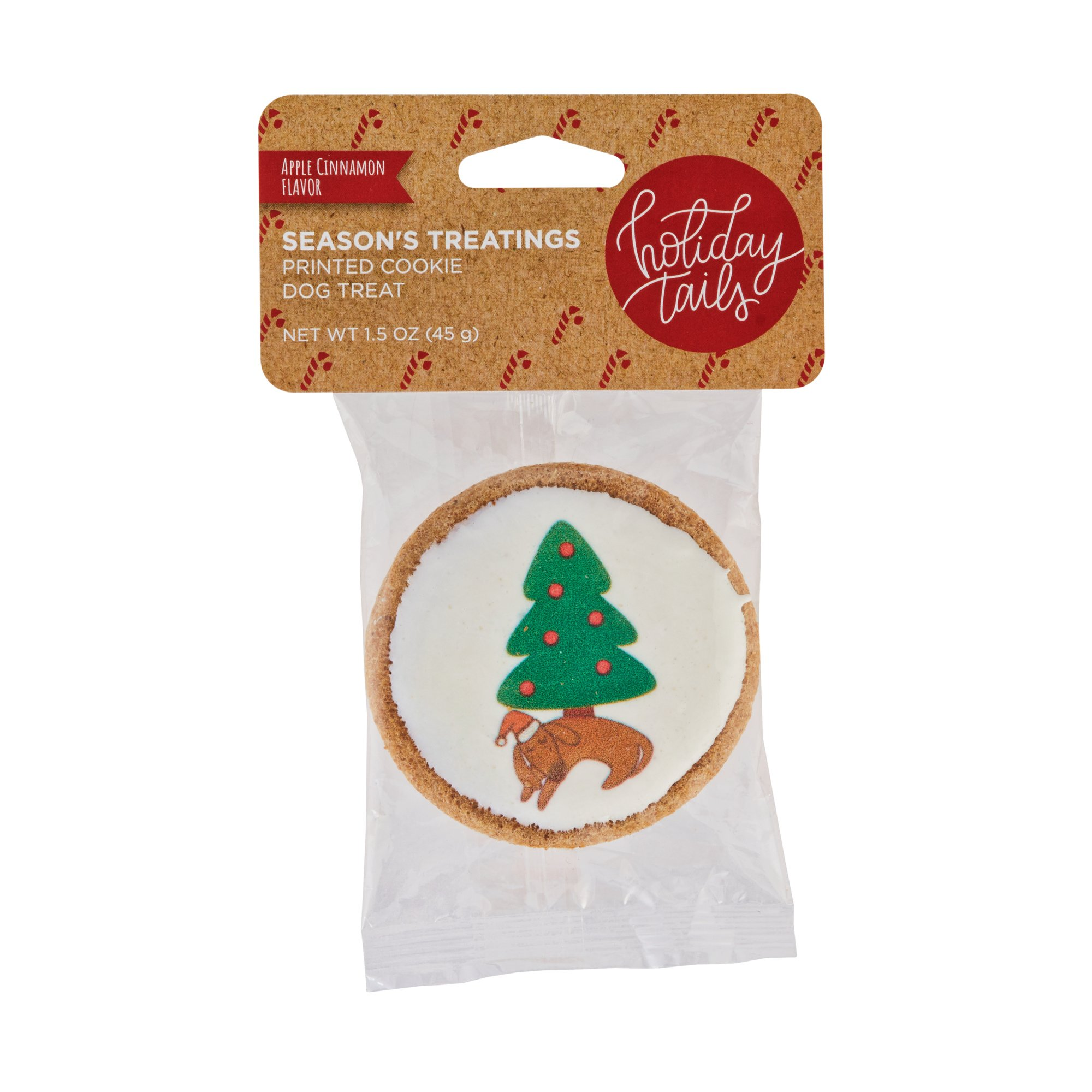 Holiday Tails Apple Cinnamon Sweet Christmas Dreams Cookie Dog Treat ...
